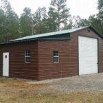 42x26x12x8-Enclosed-Barn-with-12x12-Garage-Door-